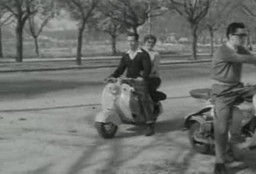 Lambretta LD 125 in Chofer de Praca, Movie, 1959
