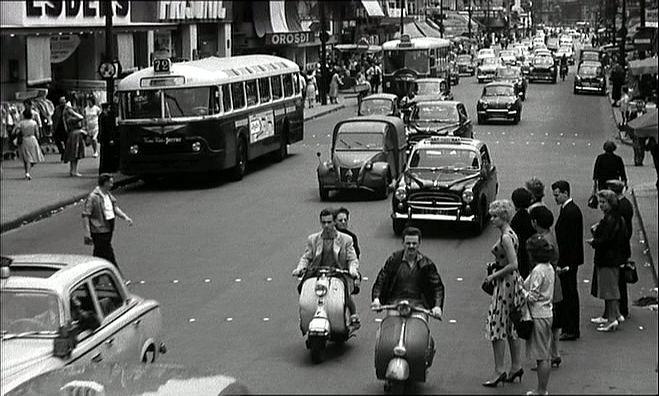1951 Lambretta LD 125 in Cléo de 5 à 7, Movie, 1961