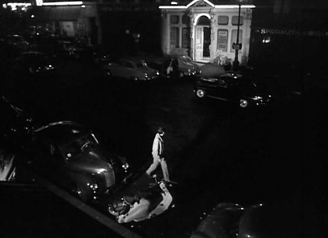 1951 Lambretta LD 125 in La tête contre les murs, Movie, 1959 IMDB