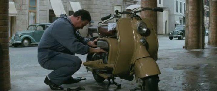 1951 Lambretta LD 125 in Gli amici del bar Margherita, Movie, 2009