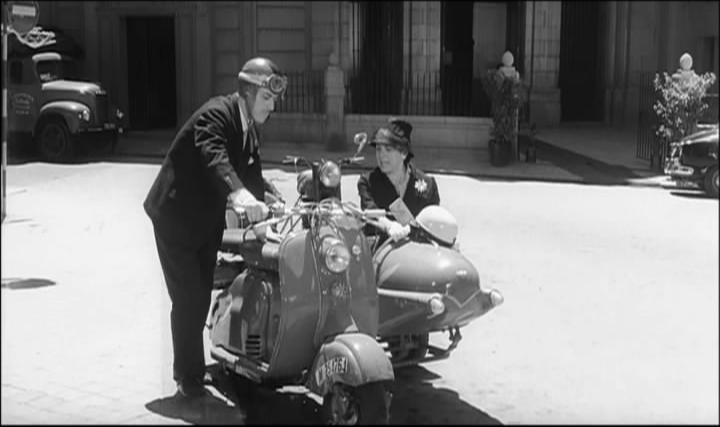 1960 Lambretta LD 125 in El Verdugo, Movie, 1963 sidecar