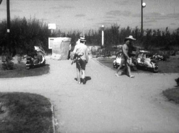Lambretta LD 150 in Zbrodniarz i panna, Movie, 1963