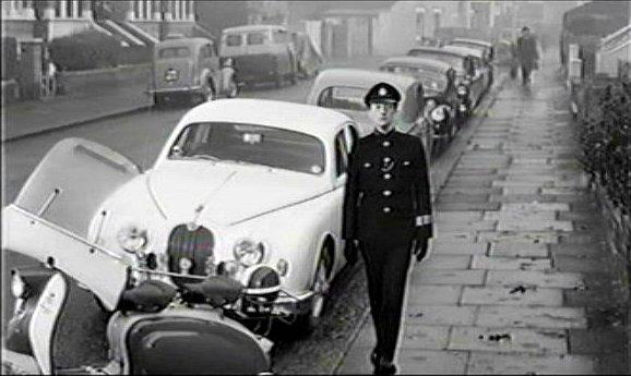 Lambretta LI in Carry on Constable, Movie, 1960