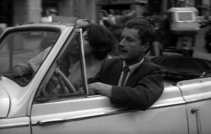 1952 Lambretta 125 FD in Le signe du lion, Movie, 1959 three wheeler