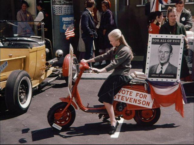 Lambretta LI in Happy Days, TV Series, 1974-1984 Ep. 2.15