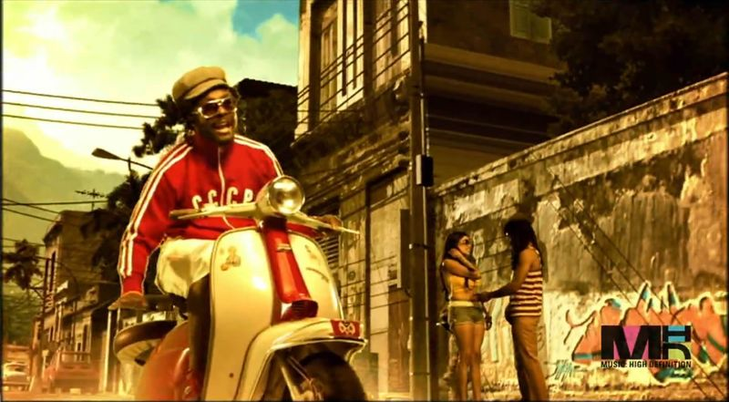 Lambretta LI in Black Eyed Peas- Dont Lie, Music Video, 2005