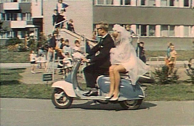 Lambretta LI in Mocne uderzenie, Movie, 1966