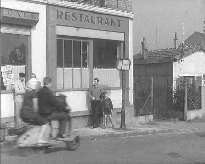 1950 Lambretta 125 LC in Premier Mai, Movie, 1958