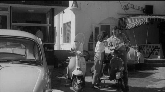 Lambretta LI Series 3 in Frankenstein Meets the Spacemonster, Movie, 1965