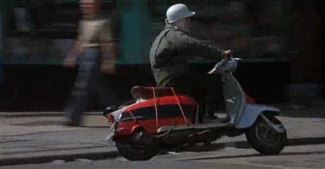 Lambretta LI Series 3 in McVicar, Movie, 1980