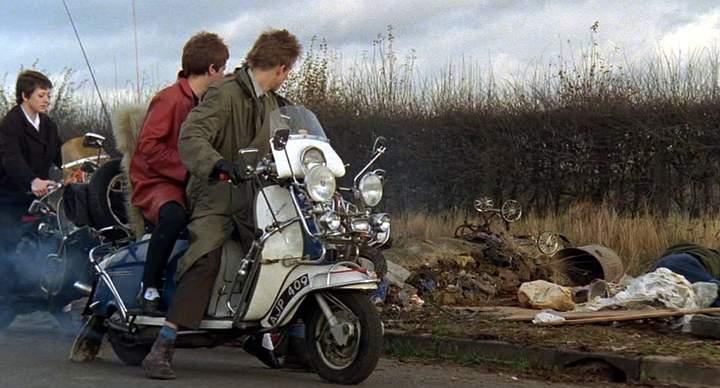 1961 Lambretta Li 125 in Quadrophenia, Movie, 1979