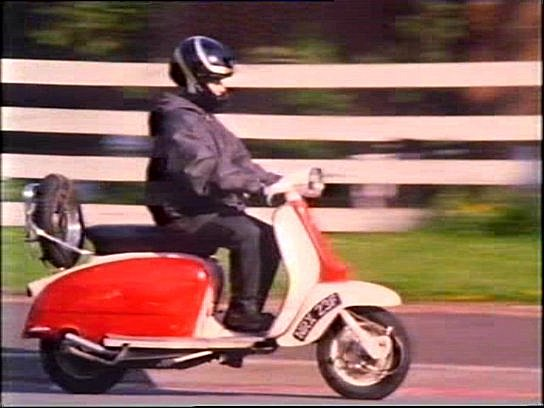 Lambretta LI 125 in Hetty Wainthropp Investigates, TV Series, 1996-1998