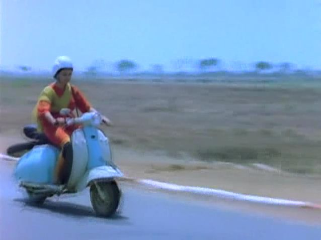 Lambretta Li 150 in Vijeta, Movie, 1982 built in India