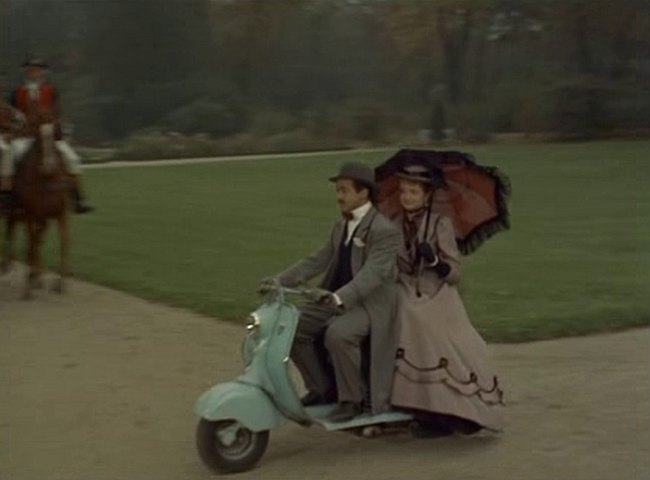 1953 Lambretta 125 LD in Si Paris nous était conté, Movie, 1956