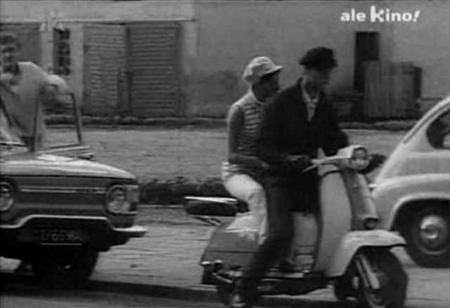 Lambretta LI 175 TV in Dancing w kwaterze Hitlera, Movie, 1968