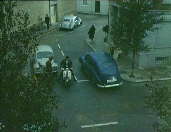 Lambretta Scooterlinea in The Baron, TV Series, 1966-1967 Ep. 1