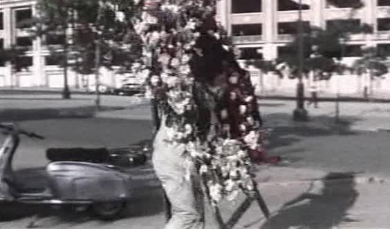 Lambretta Scooterlinea in Novios 68, Movie, 1967