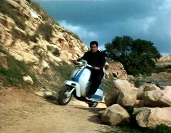 Lambretta Scooterlinea in The Saint, TV Series, 1962-1969