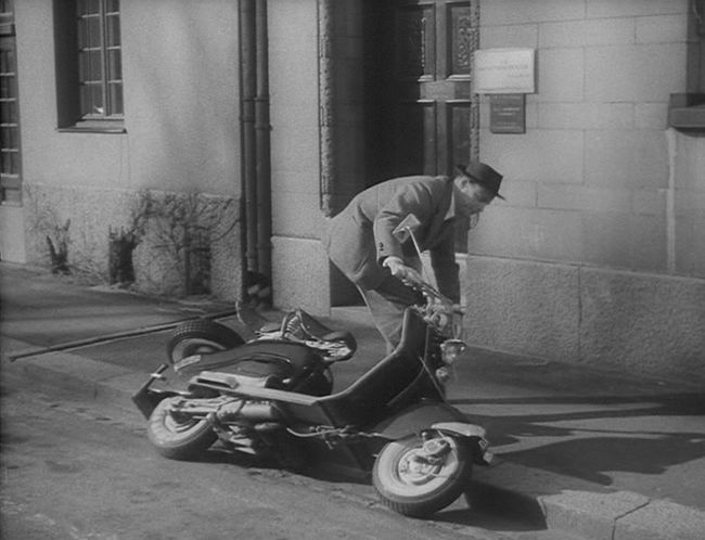 1954 Lambretta 125 LD in Hoppsan, Movie, 1955