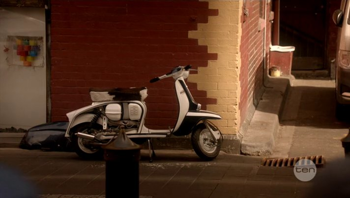 Lambretta SX in Mr & Mrs Murder, TV Series, 2013 Ep. 1.05