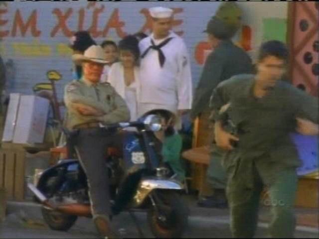 Lambretta SX 200 in Desperation, Movie made for TV, 2006