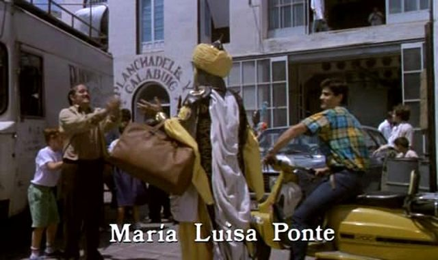 Lambretta SX 200 in Moros y cristianos, Movie, 1987 IMDB built in Spain made for Spanish market by Serveta as Jet200