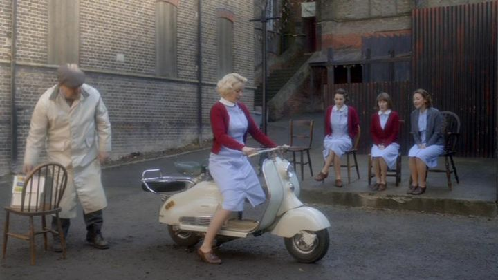 1954 Lambretta 125 LD in Call The Midwife, TV Series, 2012-2015 Ep. 2.07
