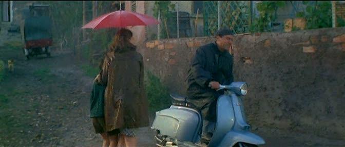 Lambretta TV 175 in Il medico della mutua, Movie, 1968