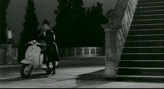 Lambretta TV 175 in Lettere di una novizia, Movie, 1960