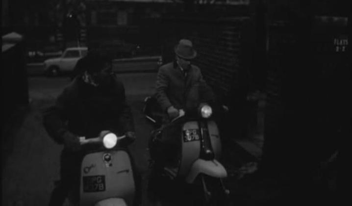 1964 Lambretta TV 175 (right) in Georgy Girl, Movie, 1966