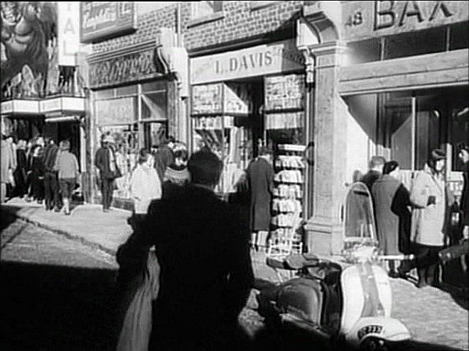Lambretta unknown in Term of Trial, Movie, 1962