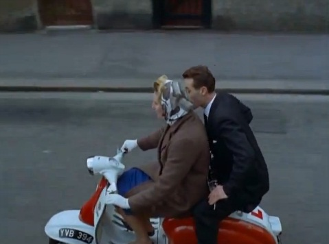 Lambretta unknown in Look at Life- Scooter Commuter, Documentary, 1962