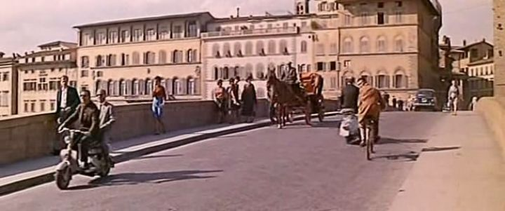 1954 Lambretta 150 D in Light in the Piazza, Movie, 1962