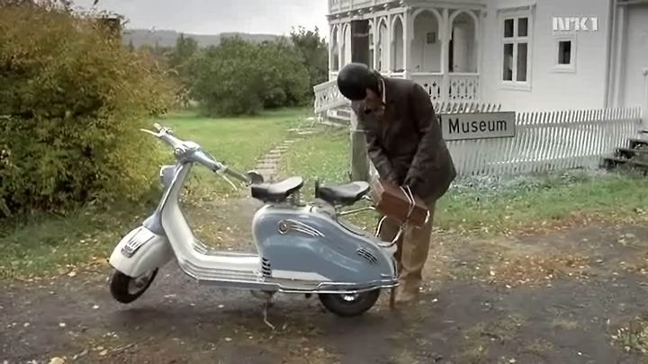 1957 Lambretta 150 LD in Tingenes tilstand, Non-fiction TV, 2008-2009 Ep. 1.08