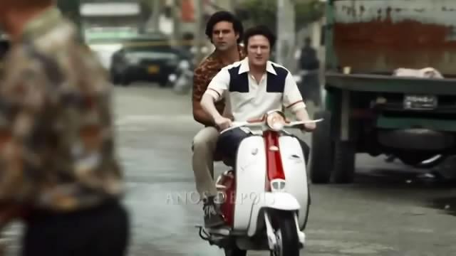 Lambretta 125 C in Escobar, El patrón del mal, TV Series, 2012 Ep. 1.01