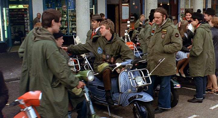 1965 Lambretta 200 GP in Quadrophenia, Movie, 1979