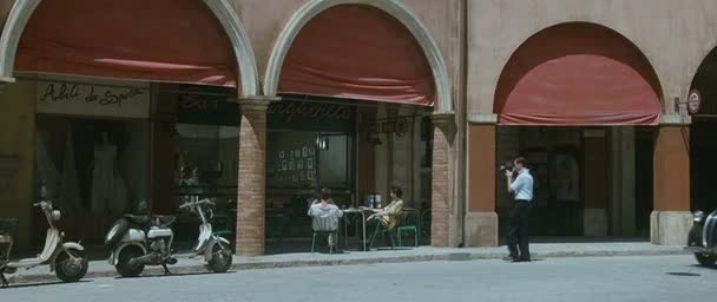 1951 Lambretta D in Gli amici del bar Margherita, Movie, 2009