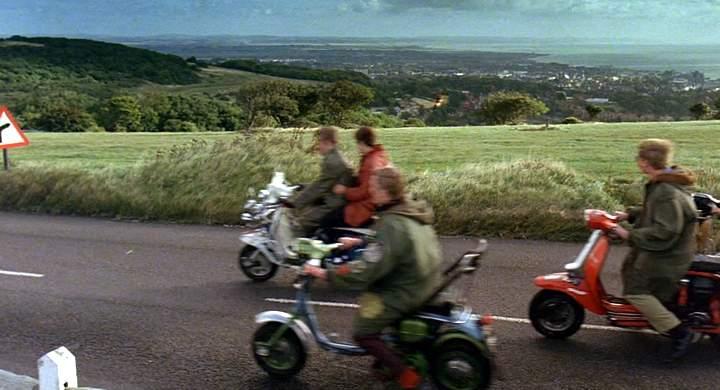 Lambretta DL in Quadrophenia, Movie, 1979