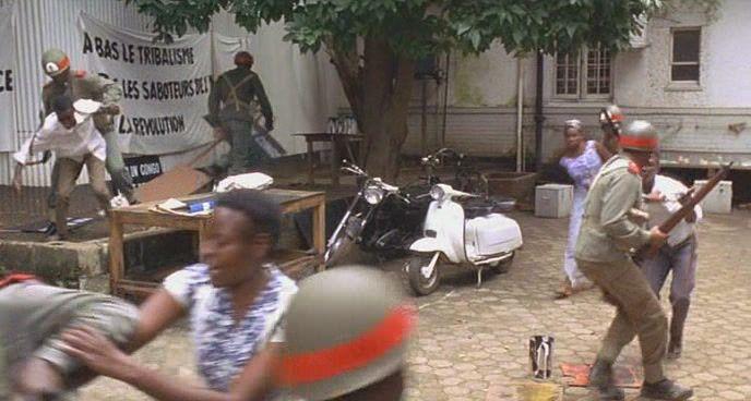 Lambretta DL in Lumumba, Movie, 2000