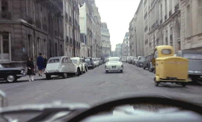 1953 Lambretta FD in Belle de jour, Movie, 1967 three wheeler