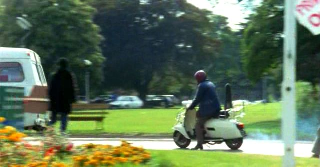 Lambretta GP in Britannia Hospital, Movie, 1982