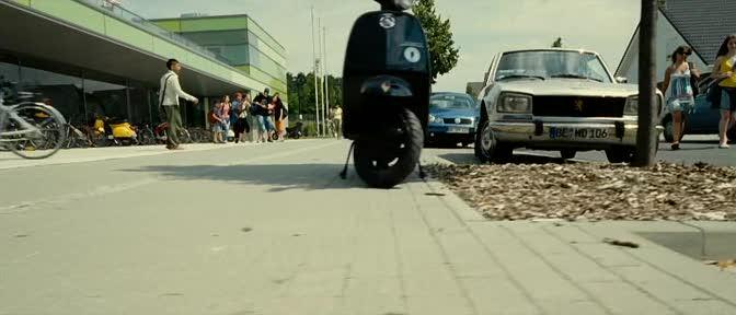 Lambretta J in Die Welle, Movie, 2008