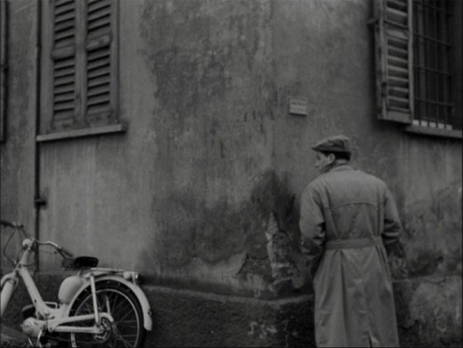 Lambretta Lambrettino 48 in Il posto, Movie, 1961 moped