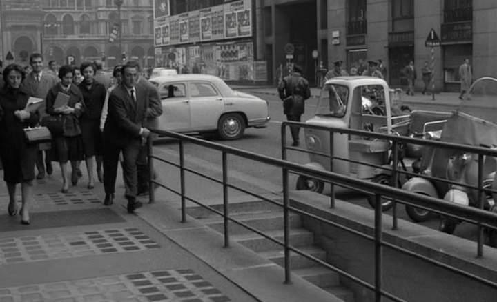 Lambretta Lambro in Classe tous risques, Movie, 1960 three wheeler