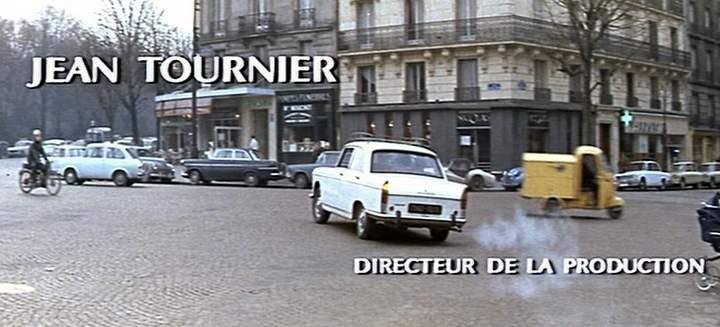 Lambretta Lambro in L'homme à la Buick, Movie, 1968 three wheeler