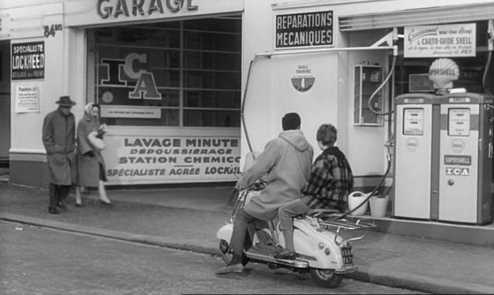 Lambretta LD in Les tricheurs, Movie, 1958