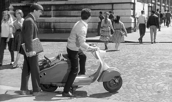 Lambretta LD in Les tricheurs, Movie, 1958