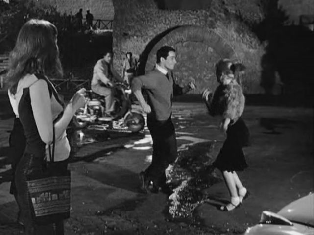 Lambretta LD in Le notti di Cabiria, Movie, 1957