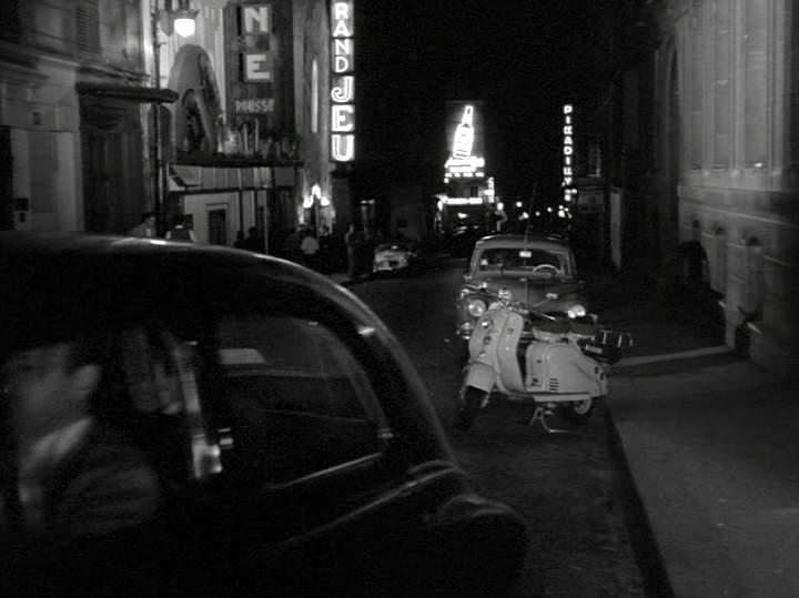 Lambretta LD in Quand la femme s'en mêle, Movie, 1957
