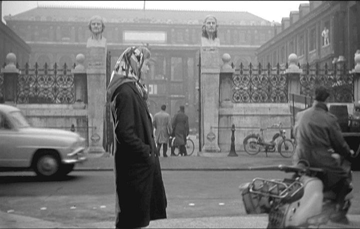 Lambretta LD in La marraine de Charley, Movie, 1959